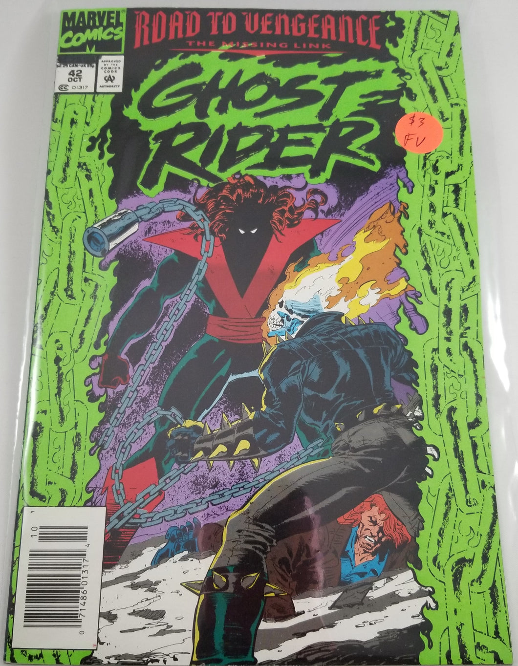 Ghost Rider (1990 2nd Series) #42