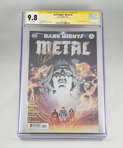 DARK NIGHTS METAL Complete Set 1 - 6 Signature Series Exclusive Virgin partial sketch cover