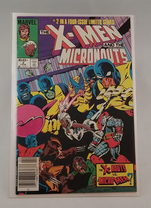 X-Men and the Micronauts (1984) 1 - 4 Set CGC Signature Series by Stan Lee