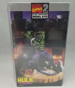 """HULK"" Marvel Comics Plastic Model Kit (Avengers) Vintage"