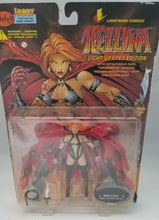 Vintage Lightning Comics Hellina Light Up Eyes Edition Helina Figure (Red)
