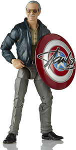 "Hasbro Marvel Legends Series 6"" Collectible Action Figure Toy Marvel's The Avengers Cameo Stan Lee, Includes 2 Accessories"