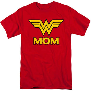Wonder Woman Wonder Mom DC Comics T Shirt & Stickers