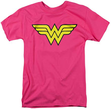Trevco Men's Wonder Woman Logo T-Shirt