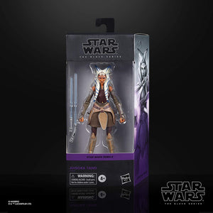 Star Wars The Black Series Ahsoka Tano Toy 6-Inch-Scale Rebels Collectible Action Figure, Toys for Kids Ages 4 and Up