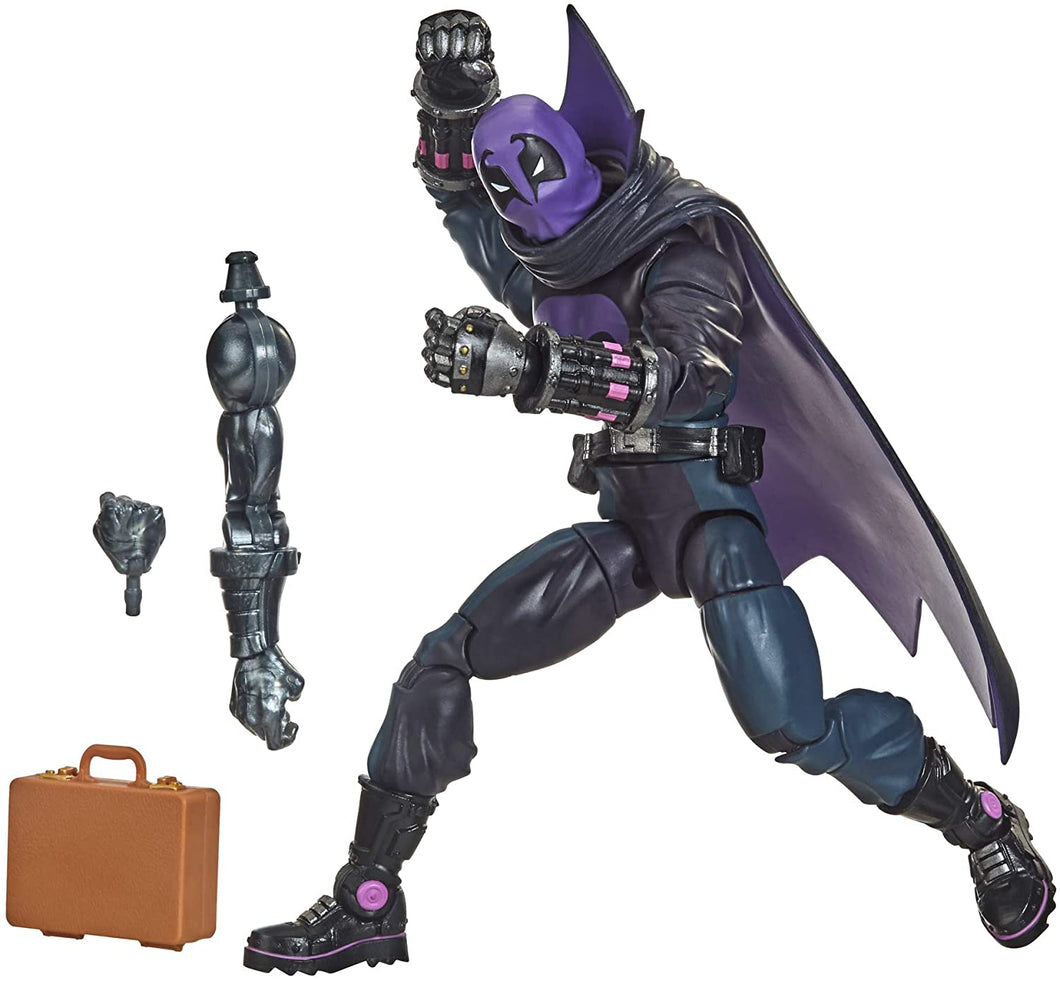 Spider-Man Hasbro Marvel Legends Series Into The Spider-Verse Marvel's Prowler 6-inch Collectible Action Figure Toy for Kids Age 4 and Up