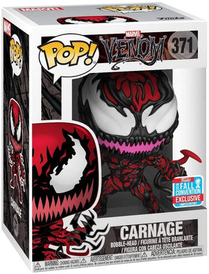 NYCC 2018 - Funk POP! Marvel: Venom - Carnage [with Tendrils] #371 - Exclusive!