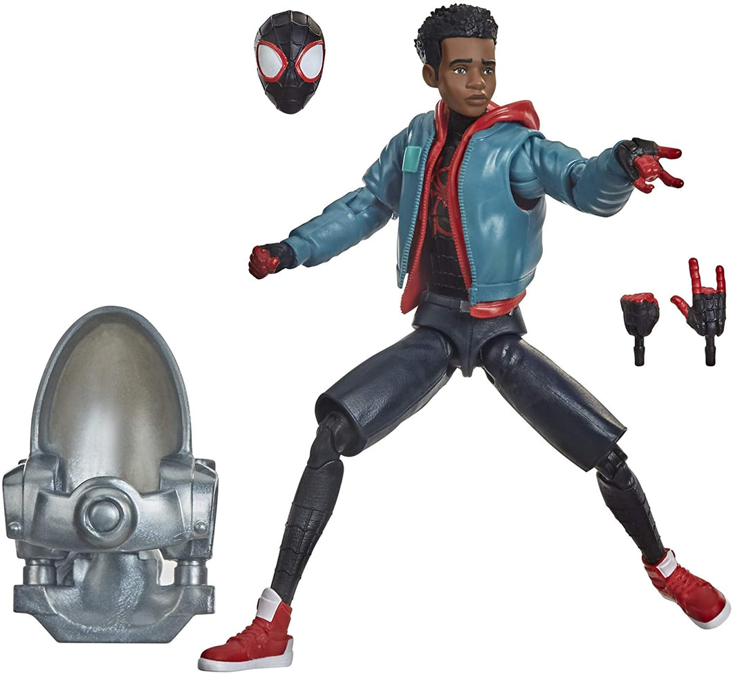 Spider-Man Hasbro Marvel Legends Series Into The Spider-Verse Miles Morales 6-inch Collectible Action Figure Toy