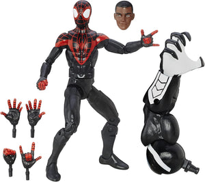Marvel Spider-Man 6-inch Legends Series Ultimate Spider-Men: Miles Morales