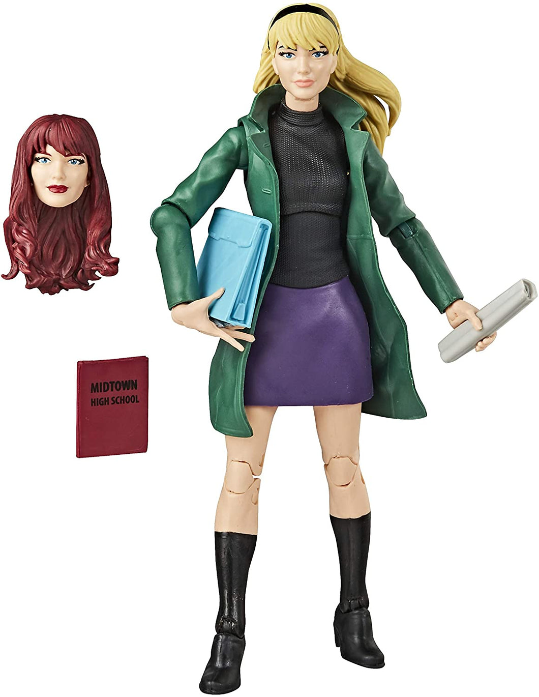 Spider-Man Hasbro Marvel Legends Series 6-inch Collectible Gwen Stacy Action Figure Toy Retro Collection