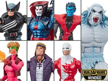 X-Force Marvel Legends Wave 1 Set of 6 Figures (Wendigo BAF)