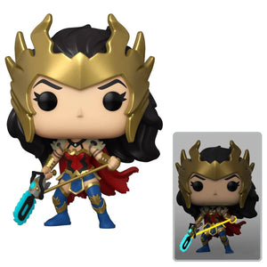 DC Death Metal Wonder Woman Pop! Vinyl Figure - PX