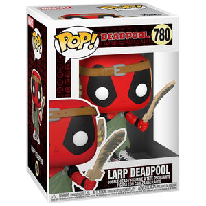 Deadpool 30th Anniversary Nerd Deadpool Pop! Vinyl Figure