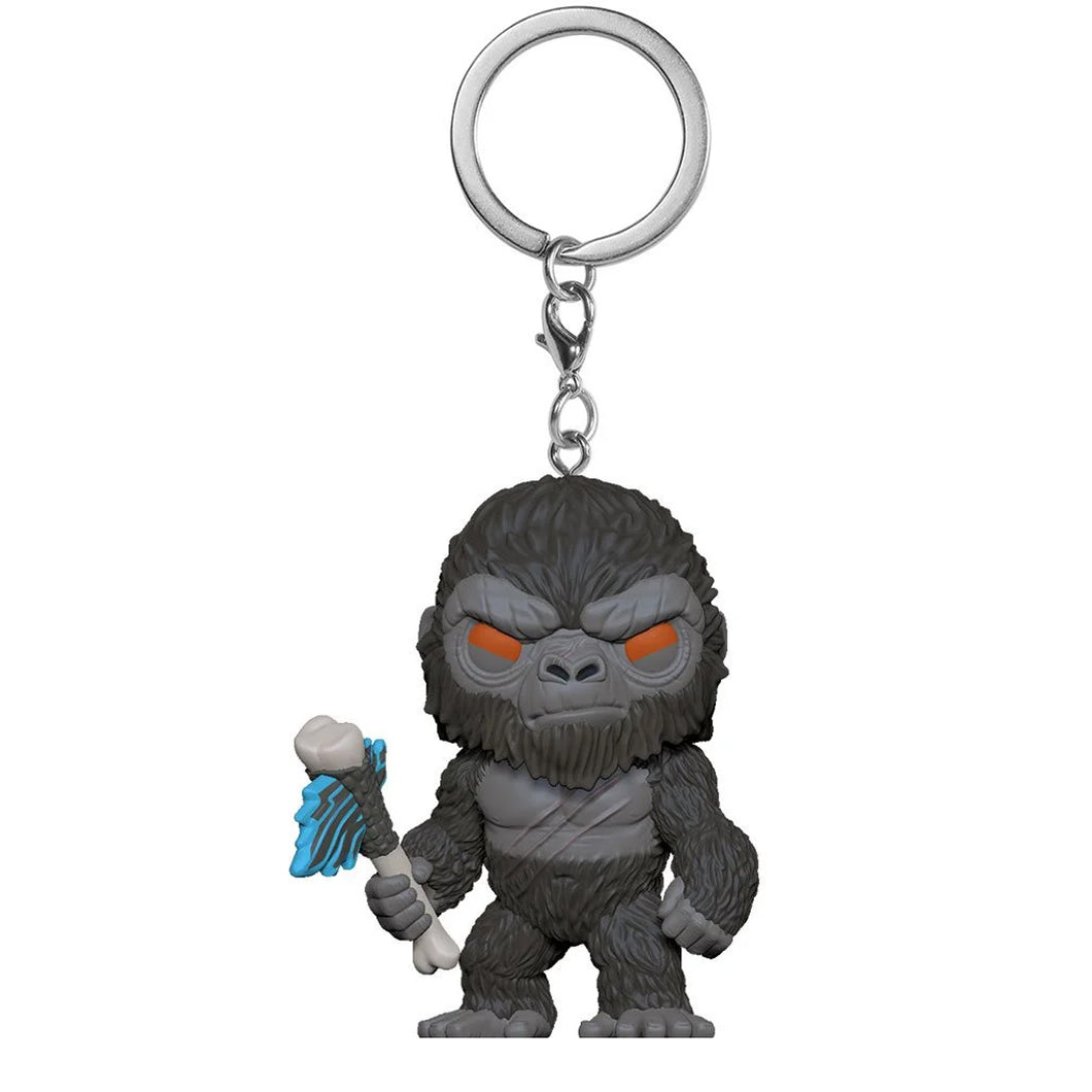 Godzilla vs. Kong Kong with Weapon Pocket Pop! Key Chain