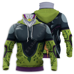 Dragon Ball Pullover Hoodies with Mask
