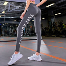 High Waist Women Compression Pants - Keep Running
