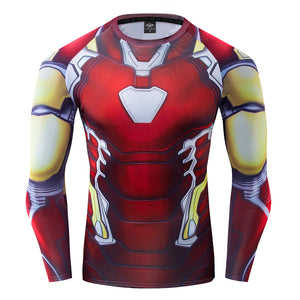 Iron Man Compression Long sleeve