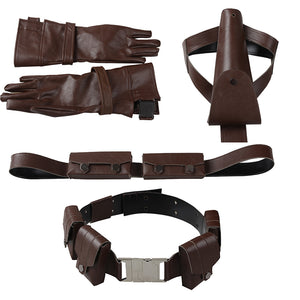 Captain America Cosplay Accessories Belt, Gloves, Chest girdle, Holster