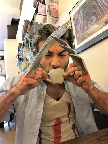 Old Man Logan Cosplay - Wolverine Coffee Break