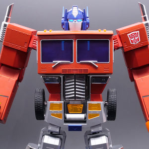 Transformers Optimus Prime Auto-Converting Programmable Robot - Collector's Edition