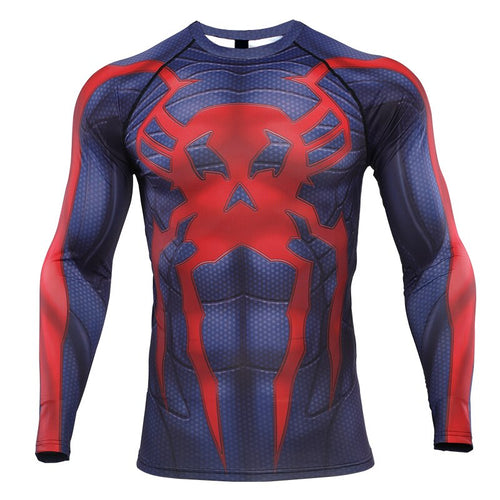Spider 2099 Compression Shirt Long Sleeve