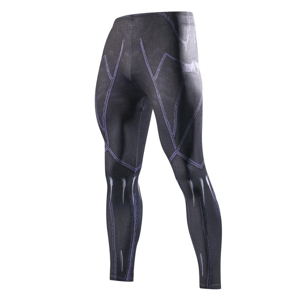 Panther Purple Power Blast Compression Pants