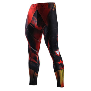 Red & Black Compression Pants