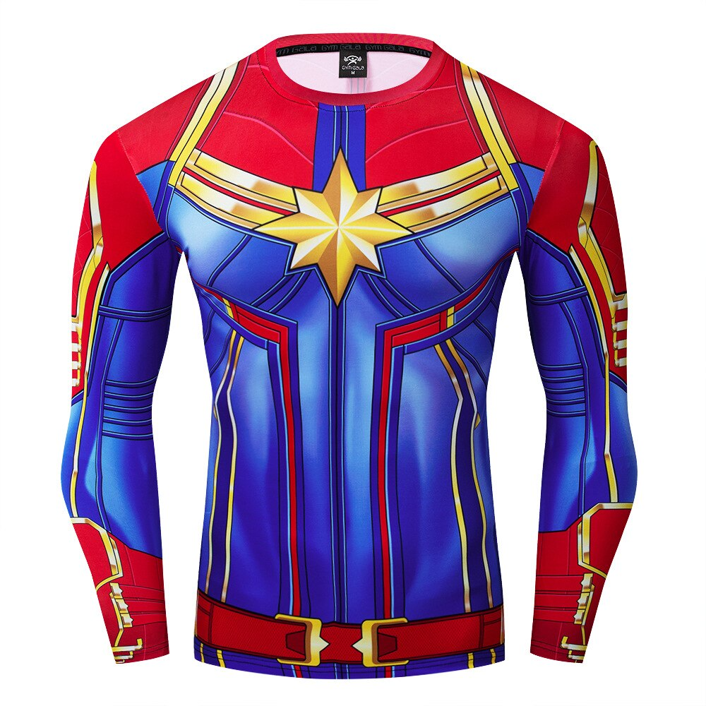 Captain Marvel Compression Long sleeve