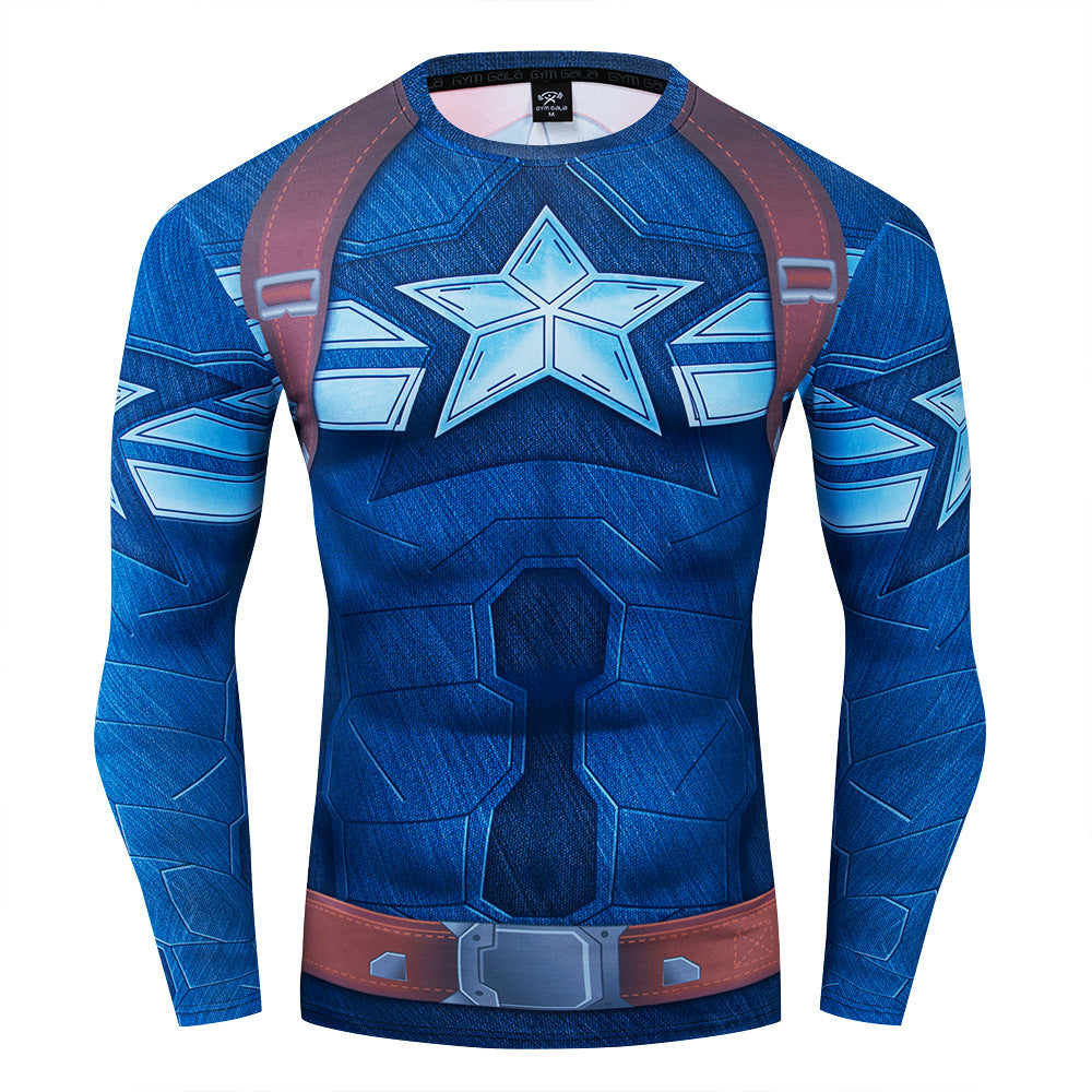 Captain 1940s Compression Long sleeve