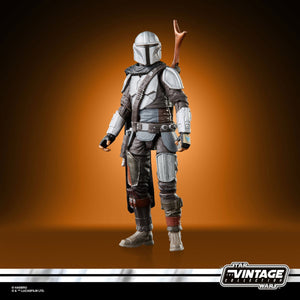 Star Wars The Vintage Collection The Mandalorian (Full Beskar) 3 3/4-Inch Action Figure