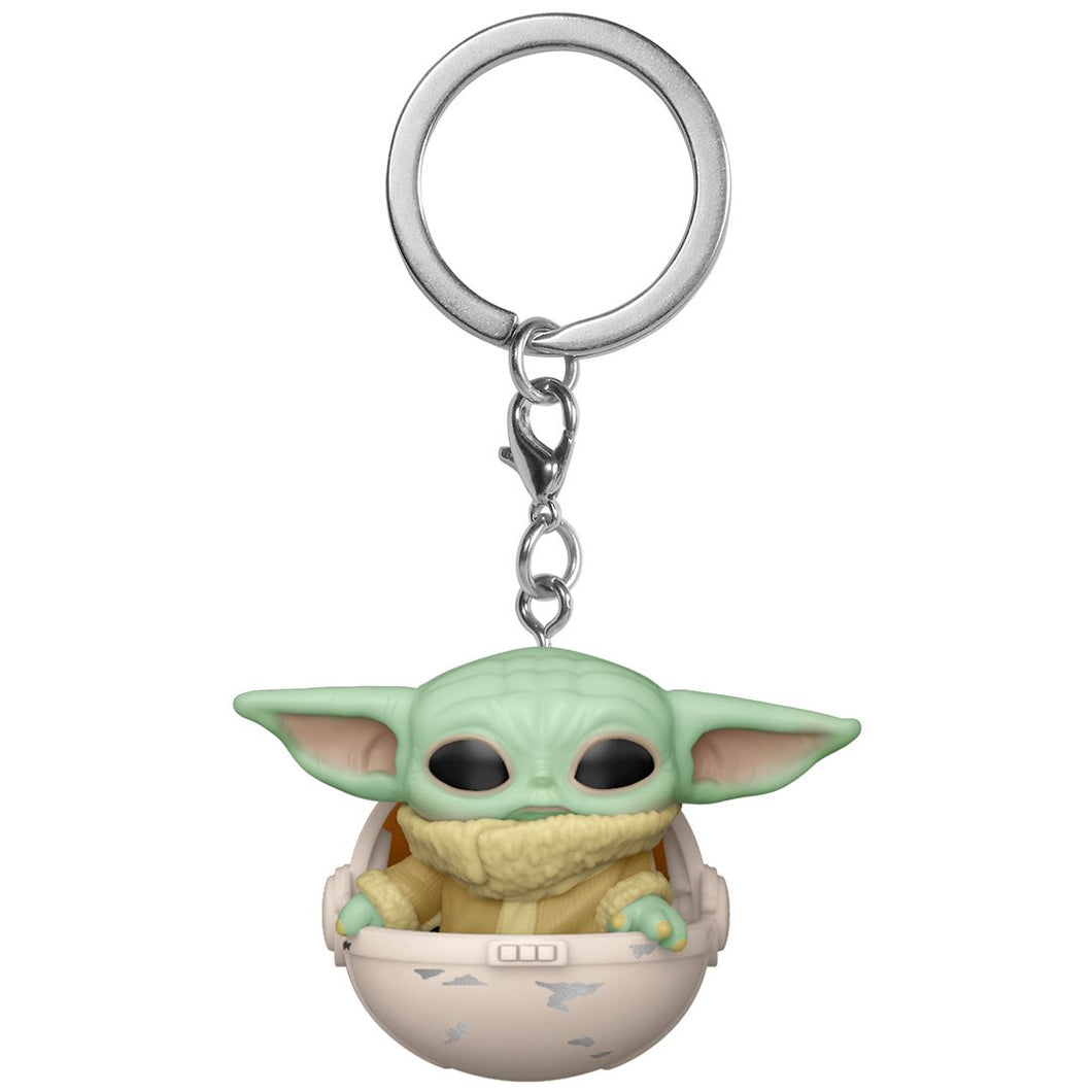 Star Wars: The Mandalorian The Child in Pod Pocket Pop! Key Chain