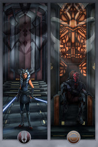 Face Off On Mandalore Art Print by ACME Archives