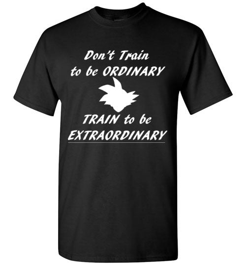Train to be Extraordinary T-Shirt DBZ Goku