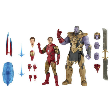 Marvel Legends Iron Man 85 vs. Thanos 6-Inch Action Figures