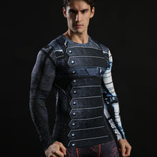 Winter Soldier Compression Shirt Long Sleeve
