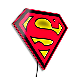 Superman LED Logo Light