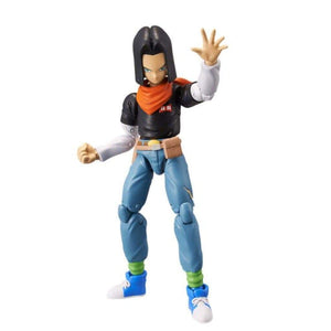 Dragon Ball Stars Android 17 Action Figure Series 10