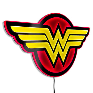 Wonder Woman LED Logo Light
