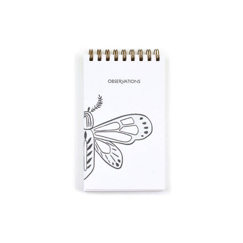 Observations Butterfly Reporter Notebook