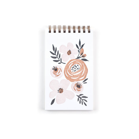 Folk Floral Reporter Notebook