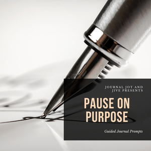 PAUSE ON PURPOSE ( Digital Download)