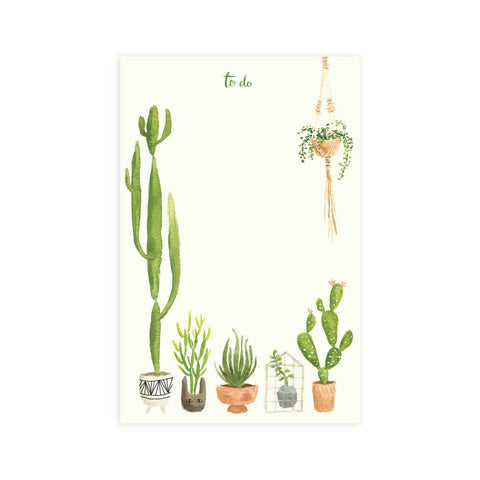 Houseplants Notepad