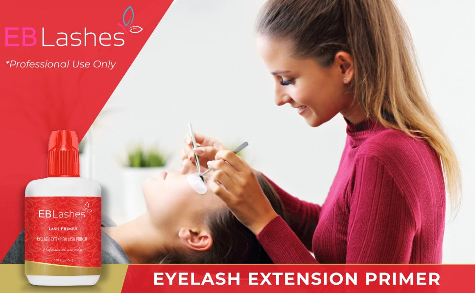Eyelash Extension Primer for Eyelash Extension Glue By Existing Beauty Lashes 15 ML