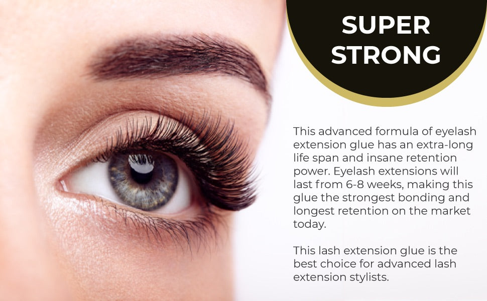 Individual Eyelash Extension Glue Extra Strong By Existing Beauty Lashes 5ML