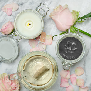 White Tea & Rose Kitchen Candle