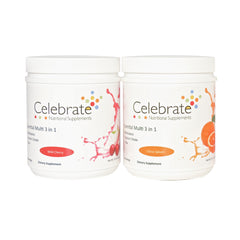 Celebrate Vitamins 3 in 1 Options