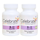 Product group shot of vitamin b12 in cherry and mint