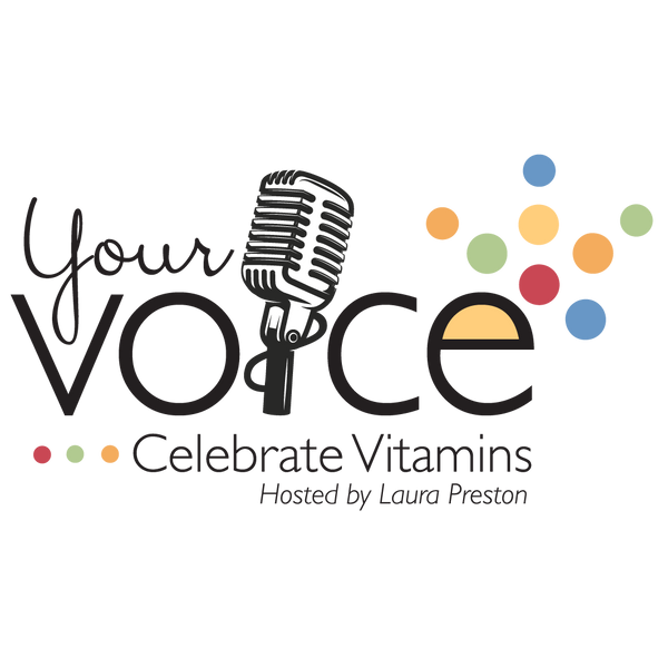 Celebrate your voice logo
