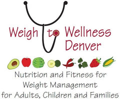 Weigh to Wellness Denver Logo at Celebrate Vitamins