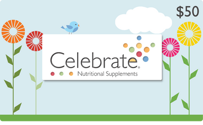 Image of Celebrate Vitamins' $50 gift card